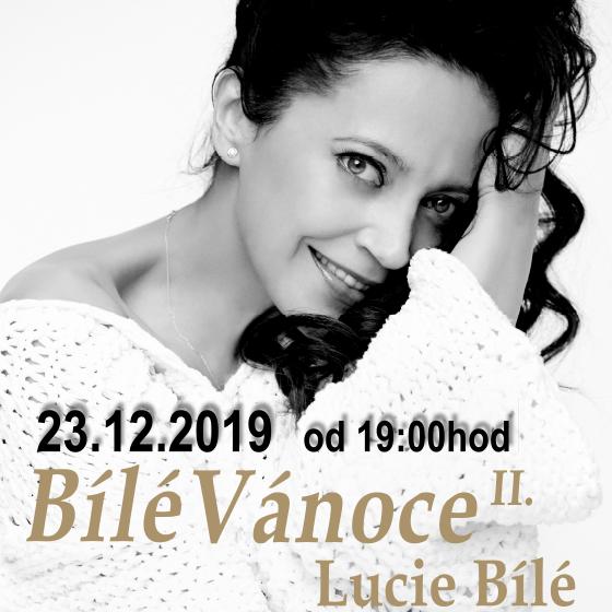Bílé Vánoce Lucie Bílé II.<br>S kapelou Petra Maláska, Bílým sborem a hostem Janem Toužimským