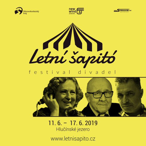 Jan Kraus a David Kraus - Talkshow<BR>Letní šapitó<BR>festival divadel
