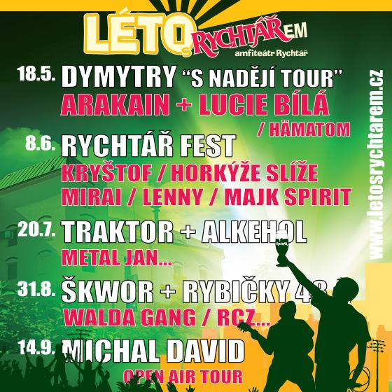 Léto s Rychtářem<br>Traktor, Harlej, Trautenberk<BR>Alkehol, Metal Jan a další