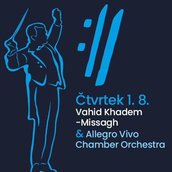 Vahid Khadem-Missagh and Allegro Vivo Chamber Orchestra<BR>International Music Festival Český Krumlov 2019
