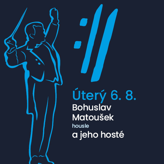Bohuslav Matoušek a jeho hosté<BR>Mezinárodní hudební festival Český Krumlov 2019