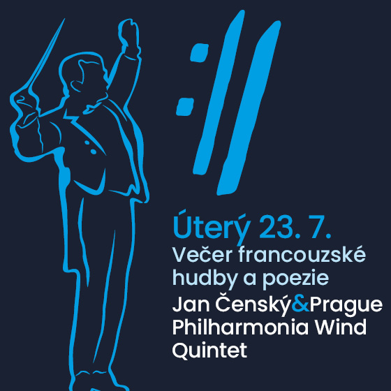 Jan Čenský and Prague Philharmonia Wind Quintet<BR>International Music Festival Český Krumlov 2019