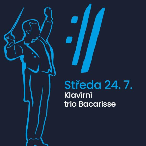 Klavírní trio Bacarisse<BR>Mezinárodní hudební festival Český Krumlov 2019