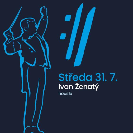 Ivan Ženatý<BR>Mezinárodní hudební festival Český Krumlov 2019