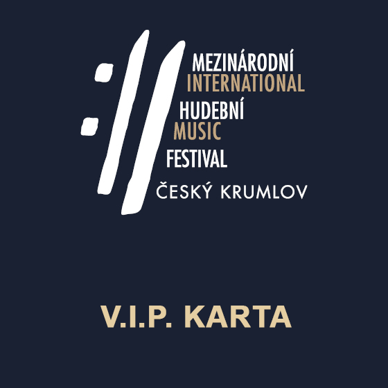 V.I.P. karta MHF Český Krumlov<br>SAMOSTATNĚ NEPLATNÉ!<br>koncert Bennewitzovo kvarteto