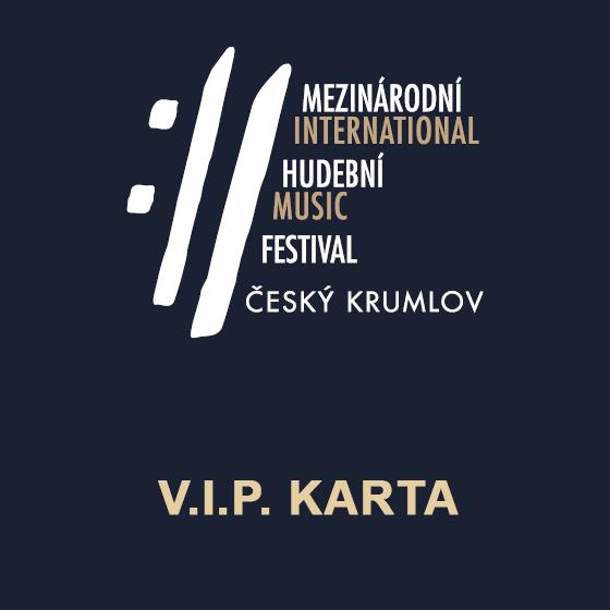 V.I.P. karta MHF Český Krumlov<br>SAMOSTATNĚ NEPLATNÉ!<br>koncert Balada pro banditu