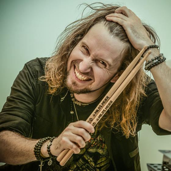 Miloš Meier<BR>Drumming Syndrome