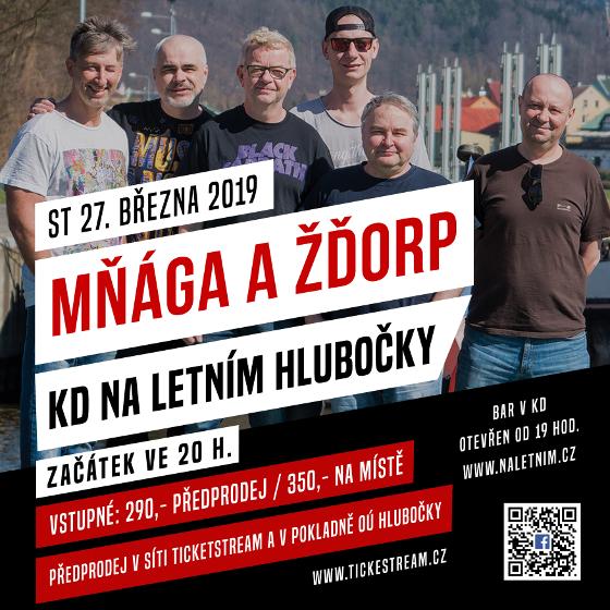 Mňága a Žďorp<br>tour 2019