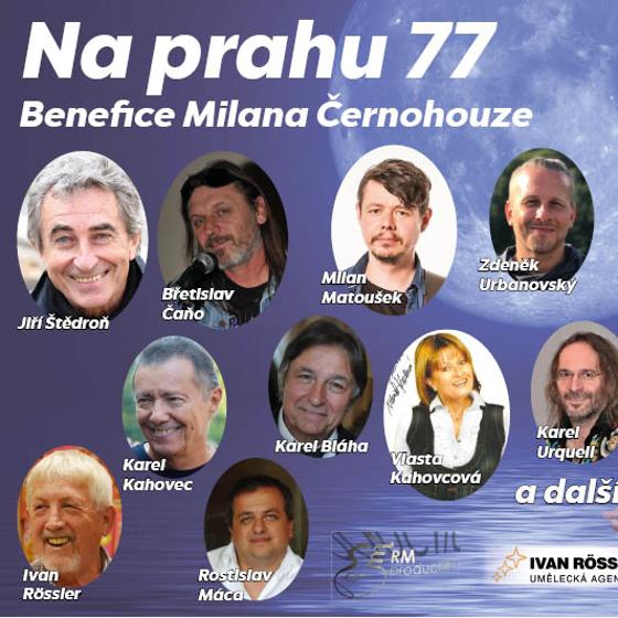 Na Prahu 77<BR>Benefice Milana Černohouze