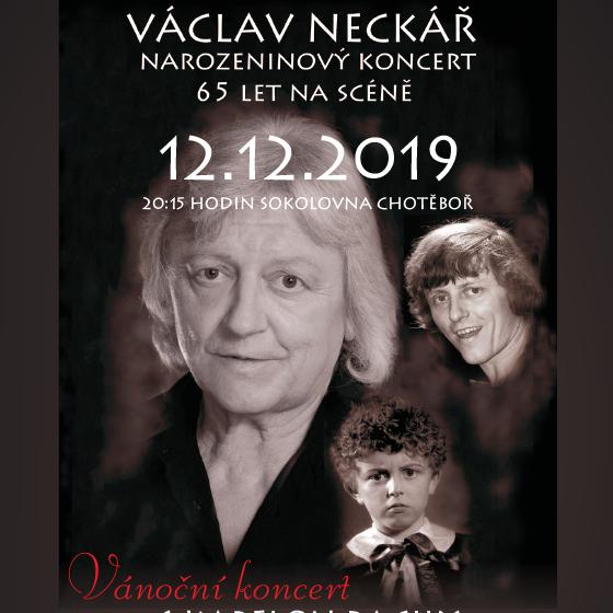 Václav Neckář a Bacily<br>Vánoční koncert 65 let na scéně