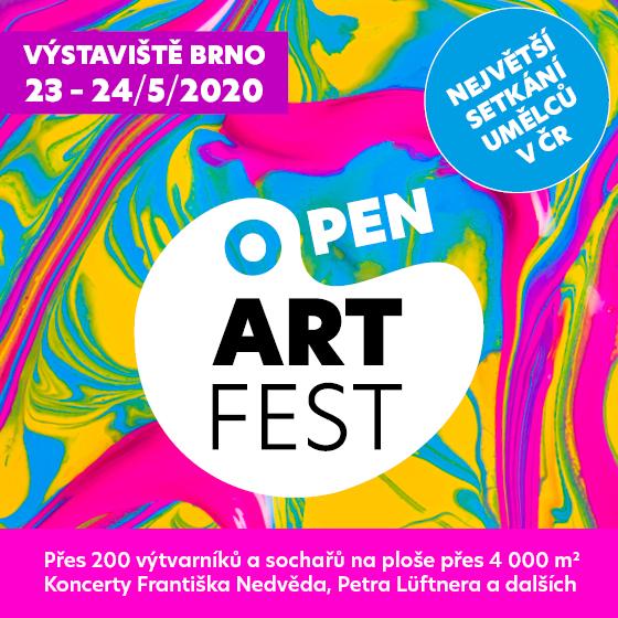 Open ART Fest 2020<br>Největší setkání umělců v ČR