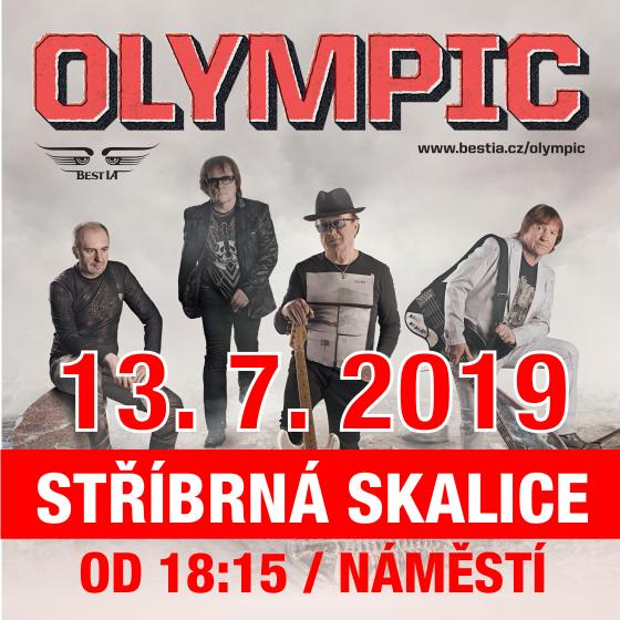 Olympic Tour 2019<br>Předkapely: Jon Wate se skupinou<br>kapela SPB