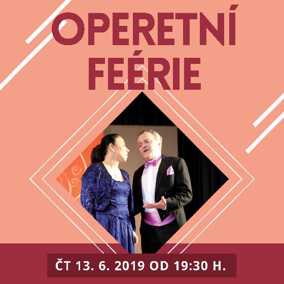 Operetní Feérie<br>zpěváci Moravského divadla