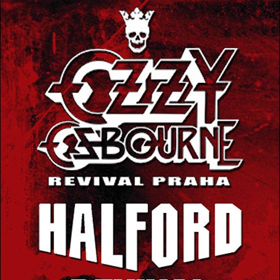 Ozzy Osbourne revival Praha<BR>Halford revival