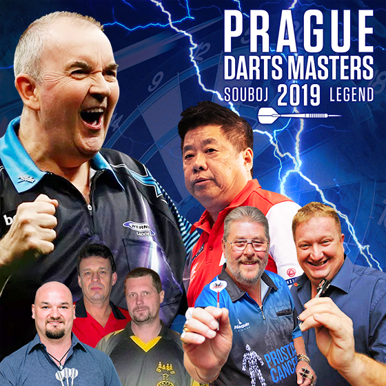 Prague Darts Masters 2019<br>Souboj Legend