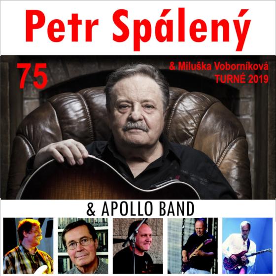 Petr Spálený 75 & Apollo Band<BR>Host: Miluška Voborníková