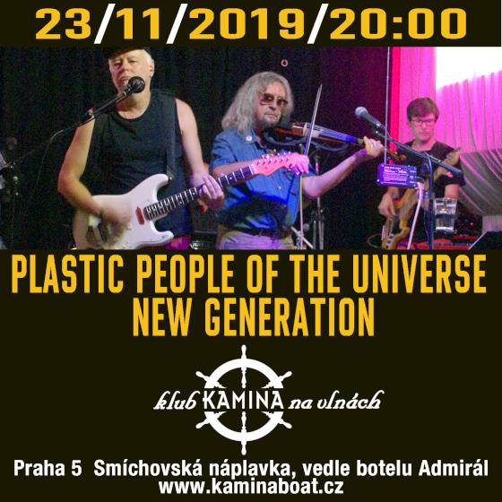 Plastic People Of The Universe<br>New Generation - Legendární kapela