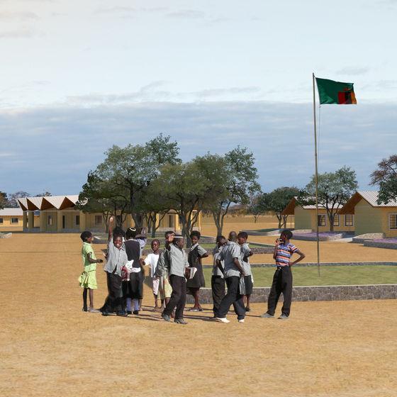 Benefiční ples<br>pro střední školu v Kashitu (Zambie)