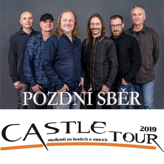 Castle tour 2019<br>Pozdí sběr<br>Honza Vančura s Plavci<br>Podjezd