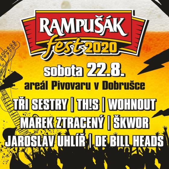 Rampušák Fest 2020<br>Škwor, Th!s, Tři sestry a další…