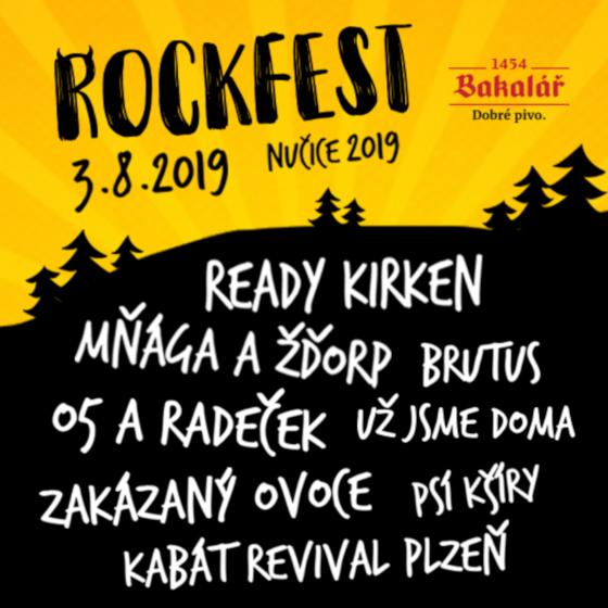 Rockfest Nučice 2019