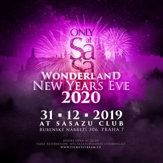 SaSaZu New Years Eve 2020<br>WONDERLAND