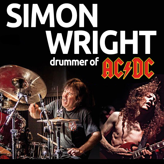 Simon Wright<br>AC/DC live Experience Tour 2020 Part II.