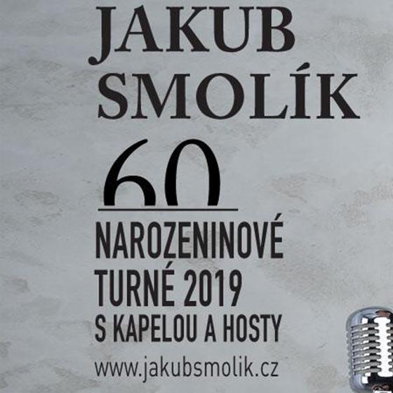 """Jakub Smolík<BR>Narozeninové turné """"60""""<BR>Host: Petr Kolář"""