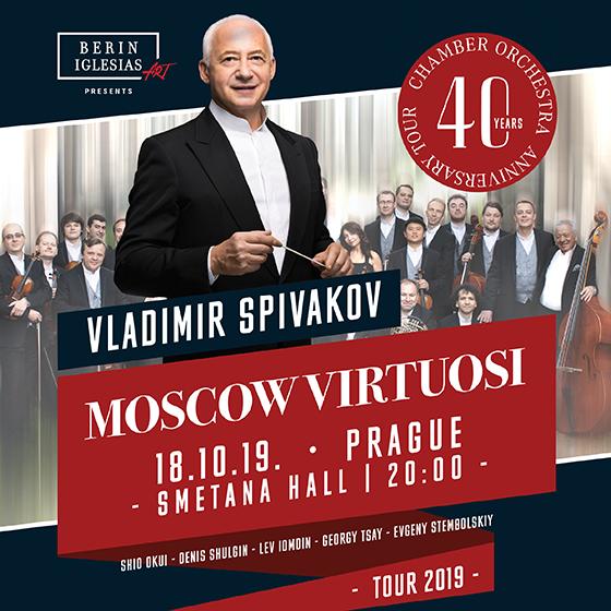 Vladimir Spivakov a Virtuosové Moskvy<br>Unikátní turné 2019