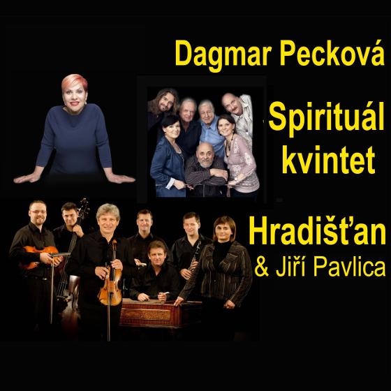 Dagmar Pecková, Hradišťan, Spirituál kvintet<BR>Společný koncert