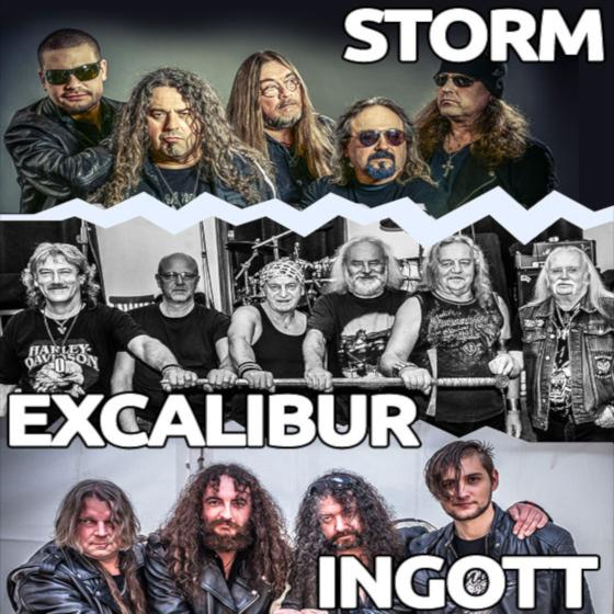 Storm, Excalibur, Ingott