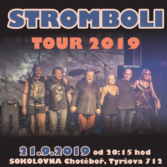 Stromboli<BR>Tour 2019
