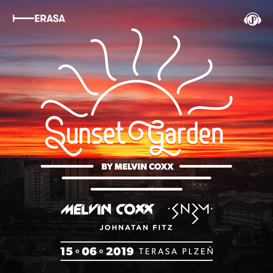 Sunset Garden<br>by Melvin Coxx