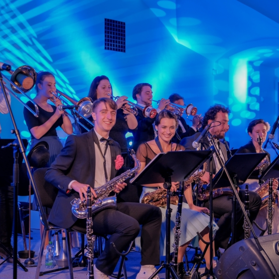 Swingová tančírna s The Mole's Wing Orchestra