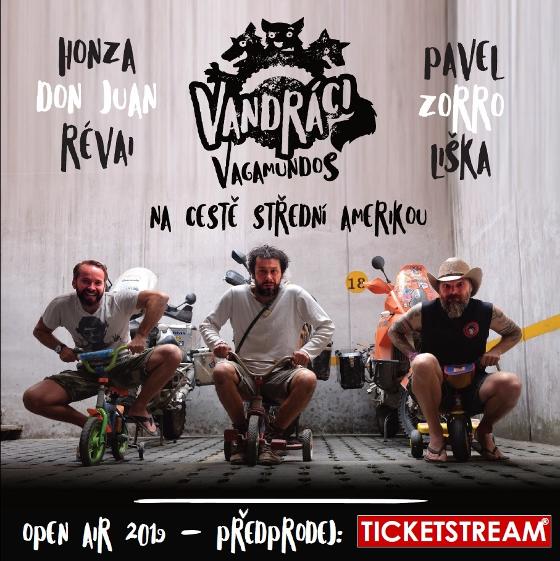 Vandráci - Vagamundos<br>Cestopis<br>Open air