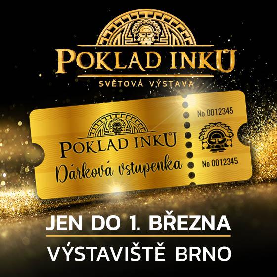 Poklad Inků<br>Světová výstava<br>Dárková vstupenka.