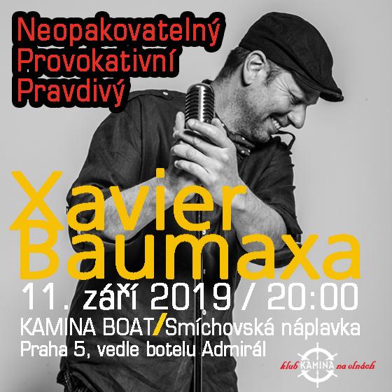 Xavier Baumaxa<BR>Provokativní, pravdivý písničkář