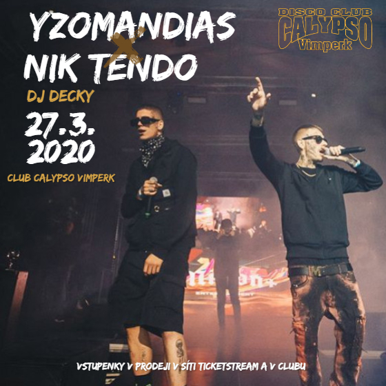 Yzomandias, Nik Tendo, Decky<br>Double Trouble tour