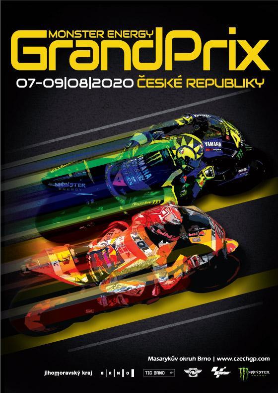 Monster Energy Grand Prix České republiky<br>Moto GP 2020