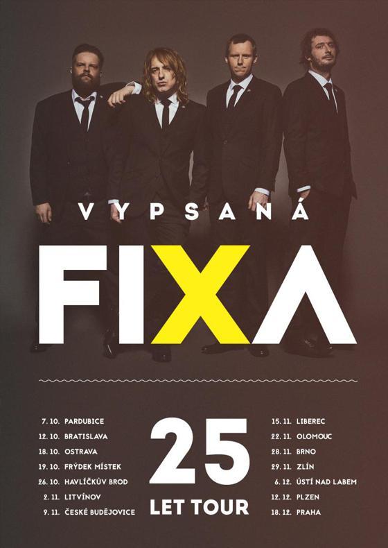 vypsaná fiXa tickets