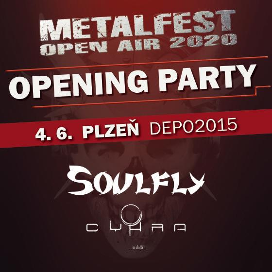 Metalfest Opening Party<br>Soulfly, Cyhra