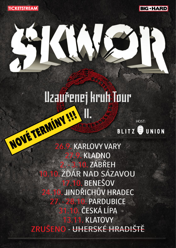 Buy tickets for concert of the band Škwor