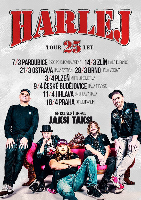 Harlej - 25 let tour