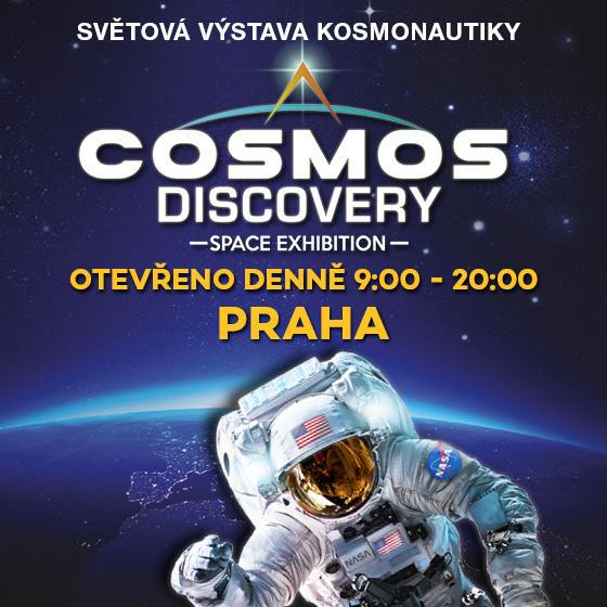 Cosmos Discovery<br>Space exhibition<br>Světová výstava kosmonautiky