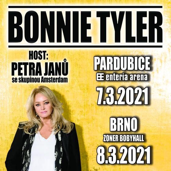 Bonnie Tyler<br>Host: Petra Janů se skupinou Amsterdam