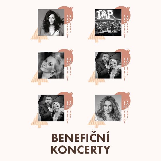 Benefiční koncerty
