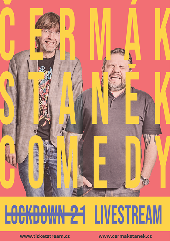 Čermák Staněk Comedy Podcast<br>LOCKDOWN 21<br>LiveStream