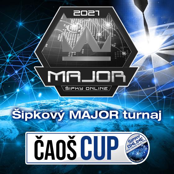 ČAOŠ CUP 2021<br>Šipkový MAJOR turnaj