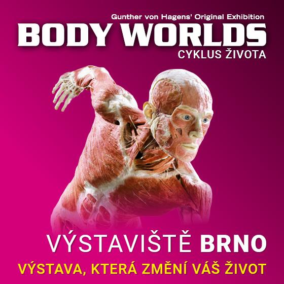 Body Worlds<br>Cyklus života<br>Světová výstava lidských těl