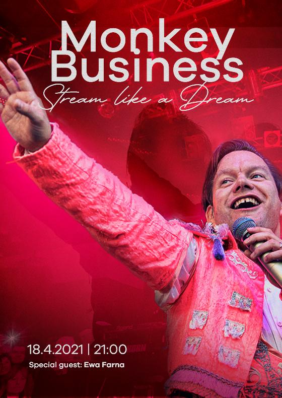 Monkey Business<br>Stream like a dream